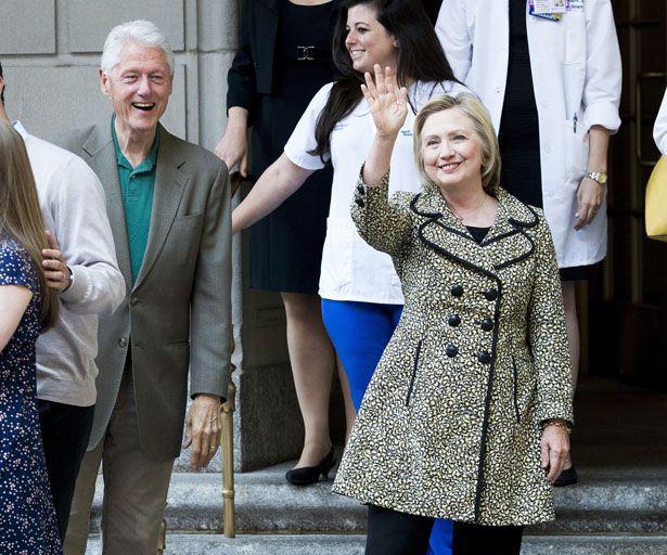 Hillary Clinton am Broadway: