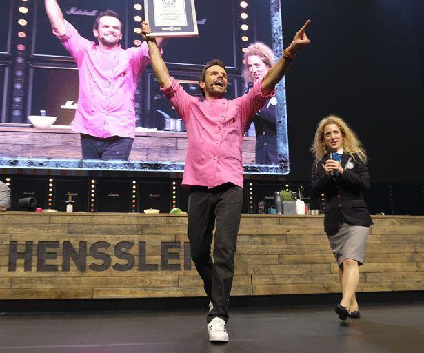 Steffen Henssler hat einen neuen Weltrekord