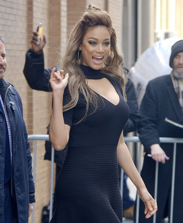 Tyra Banks zu dick zum Modeln?