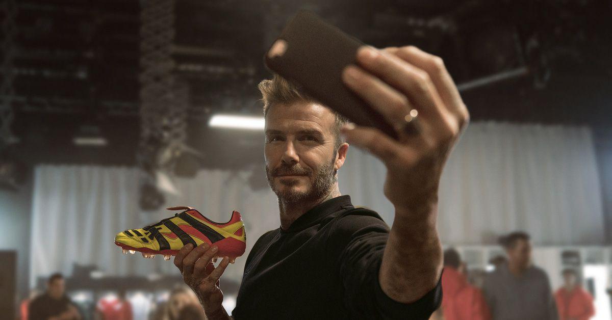 David Beckham designt Sneaker für Adidas