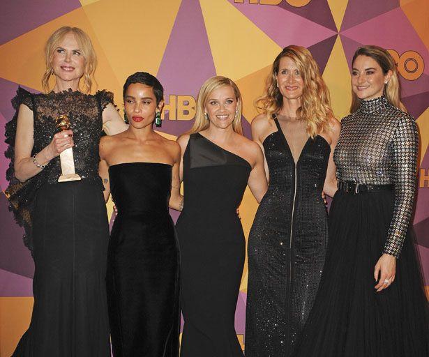 Shailene Woodley lobt Nicole Kidman und Reese Witherspoon