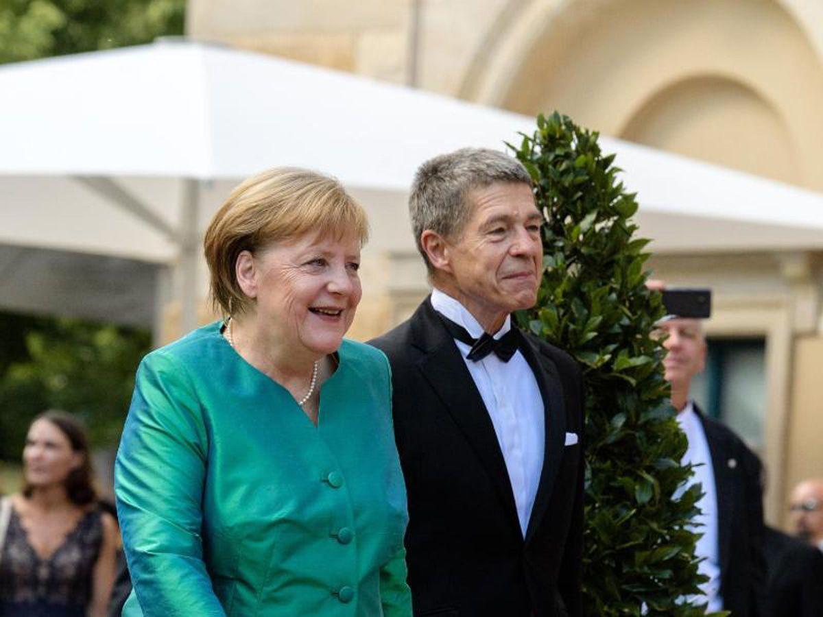 Festspiele Bayreuth 2018 - Merkel