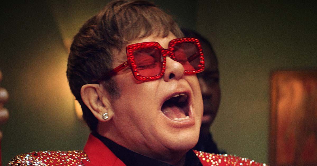 Video: Elton John unter Rappern haben wir auch noch nie gesehen