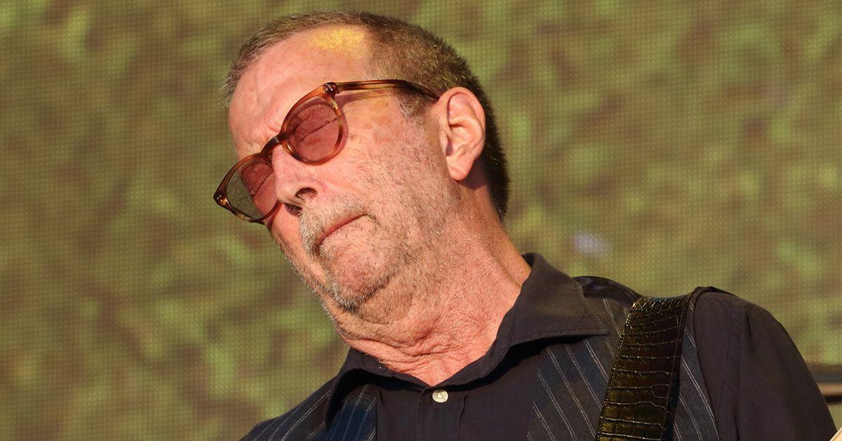 Eric Clapton macht's unterm Weihnachtsbaum