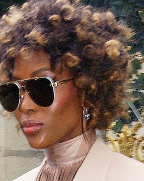 Naomi Campbell Ohne Perücke Auf Der Fashion Week Klatsch Tratschde