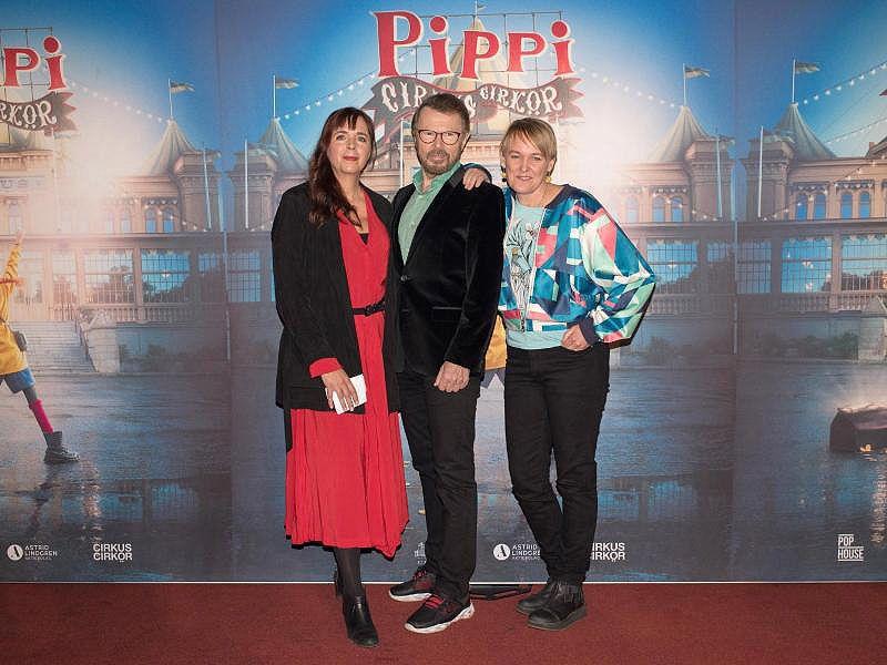 Die ABBA-Herren bringen Pippi Langstrumpf in den Zirkus