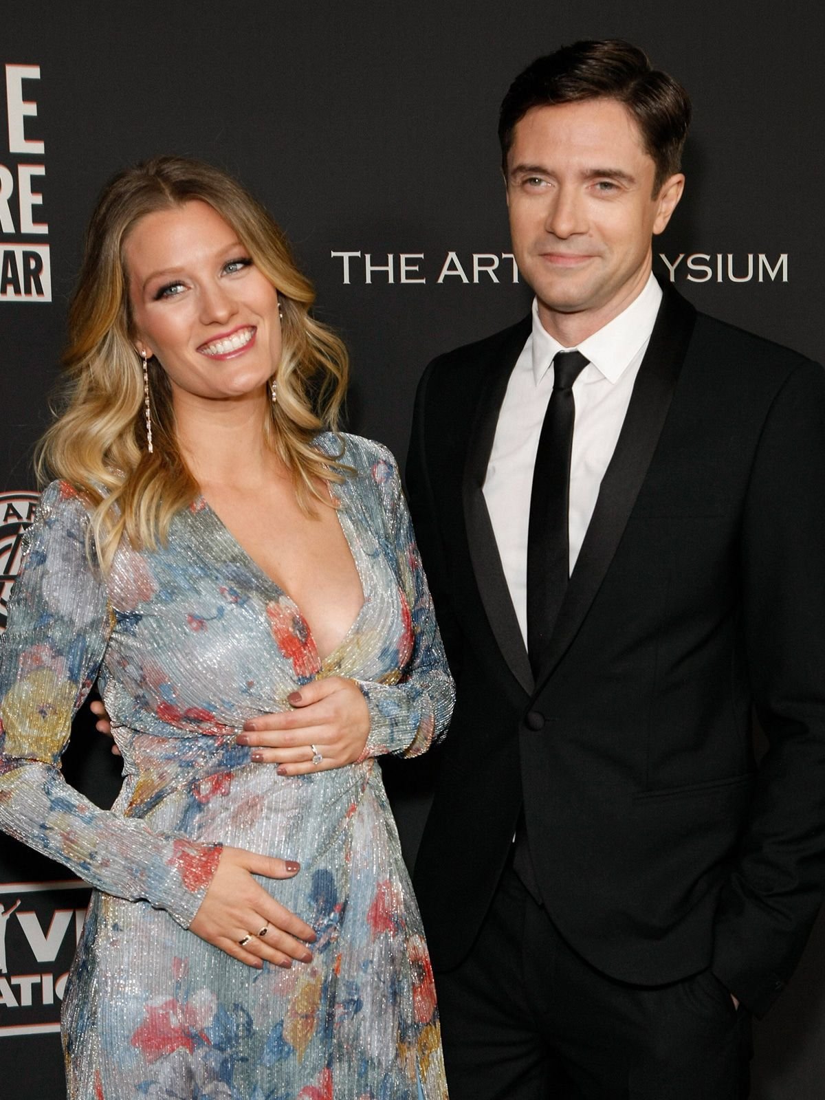 Topher Grace und Ashley Hinshaw freuen sich auf Baby Nr. 2