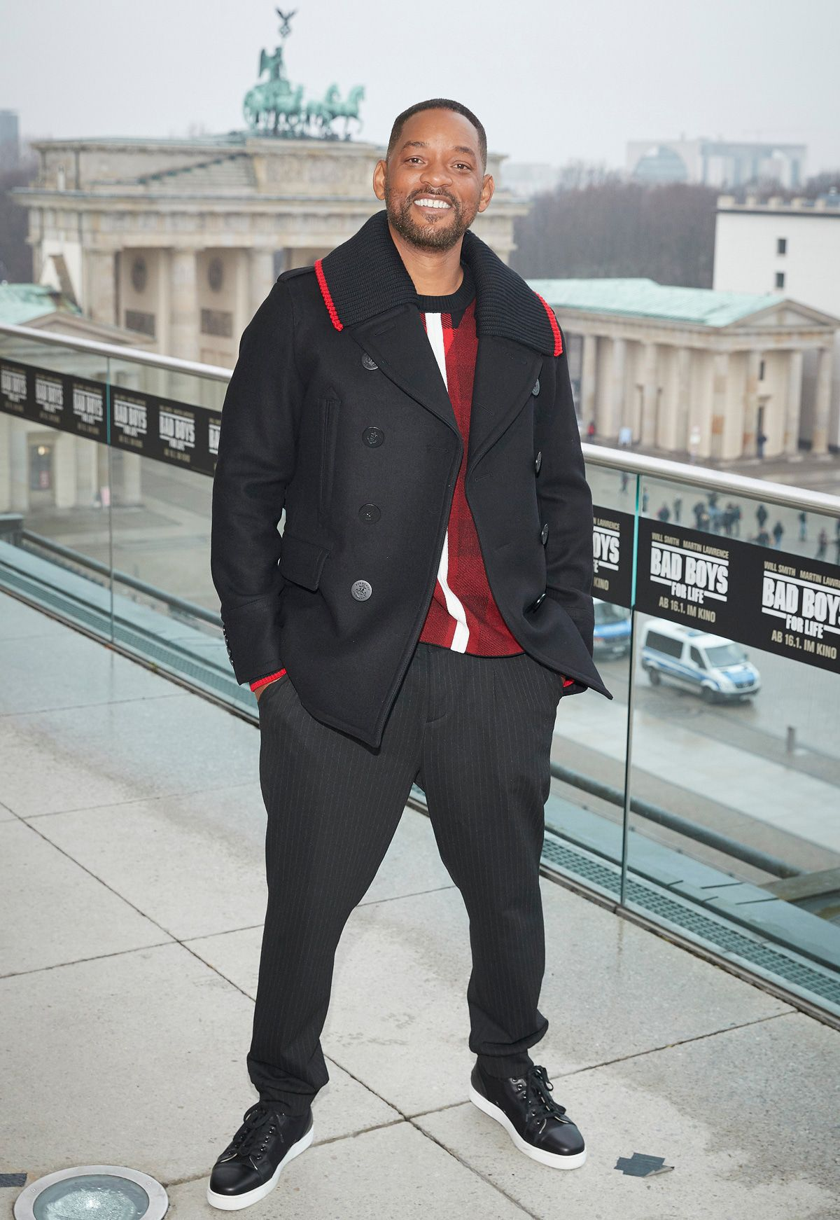 Will Smith war wieder in Berlin