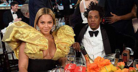 Beyoncé schmuggelt Champagner zu den Golden Globes
