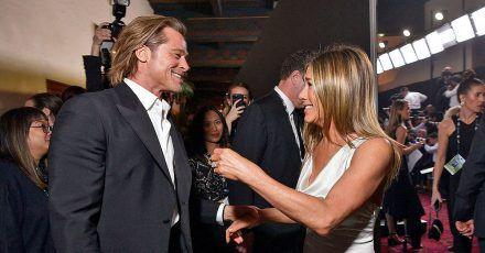 Brad Pitt & Jennifer Aniston: Sogar Promis hoffen auf Liebes-Comeback