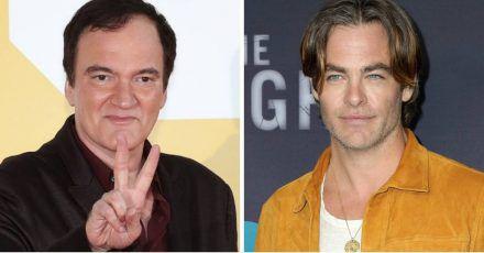 Quentin Tarantino outet sich als Chris Pine-Fanboy