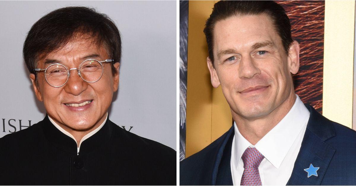John Cena ist hin und weg von Jackie Chan