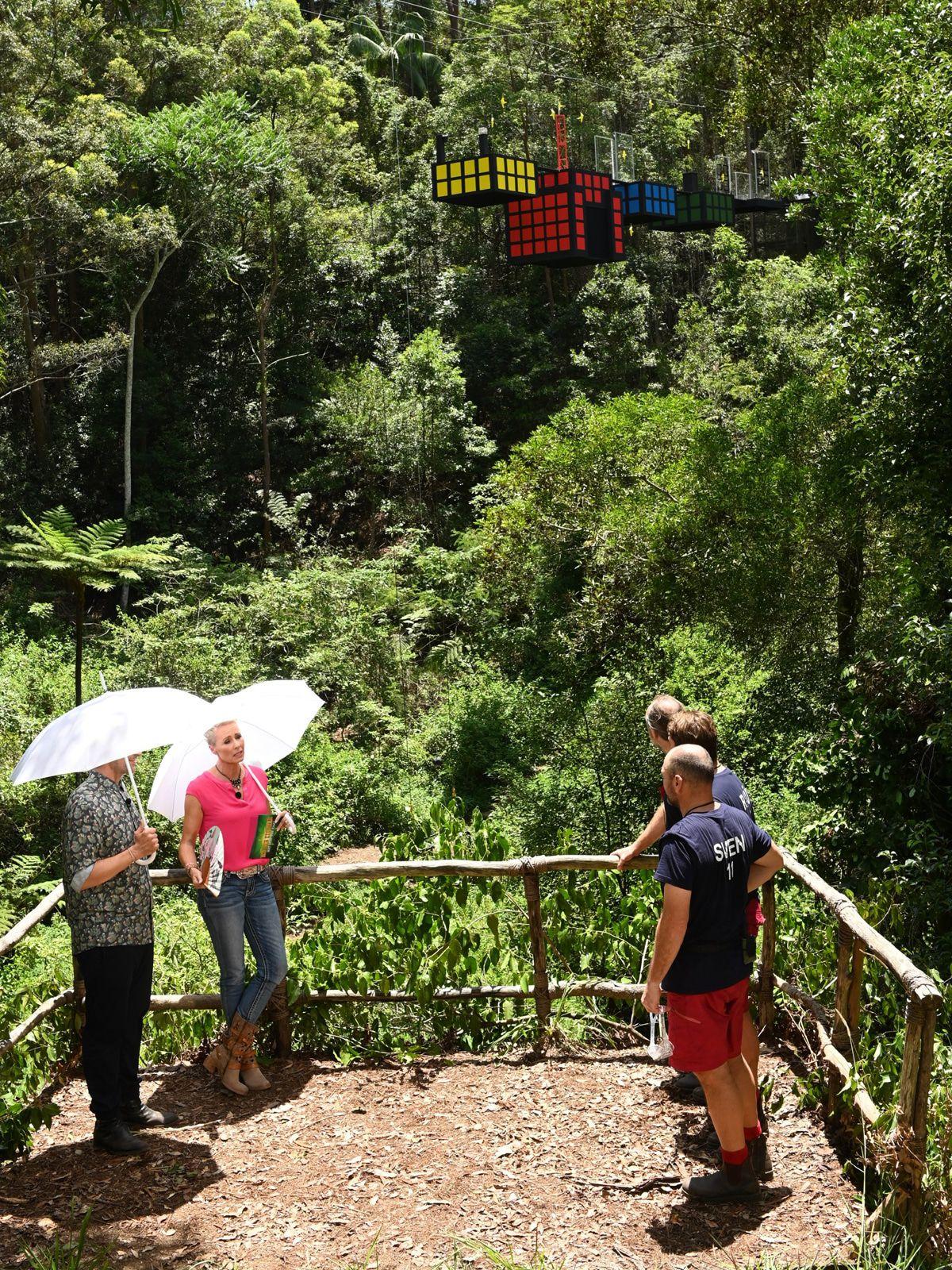 Dschungelcamp Tag 13: Höhenfluch und wurde rausgewählt