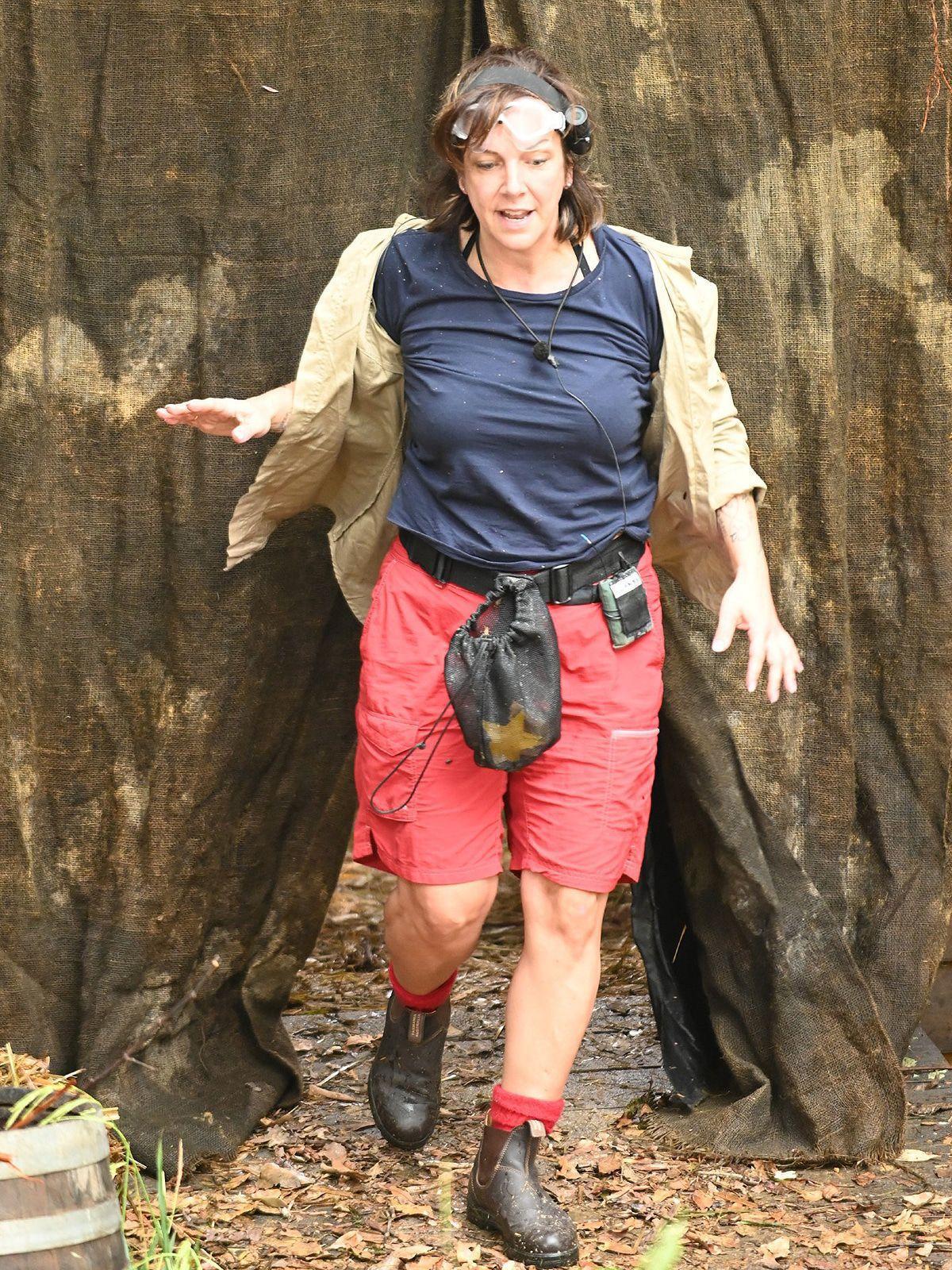 Dschungelcamp Tag 3: Frau Büchner bejubelt sich und ihre Sendezeit