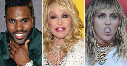 Jason Derulo, Miley Cyrus & Co.: Alle lieben die #dollypartonchallenge
