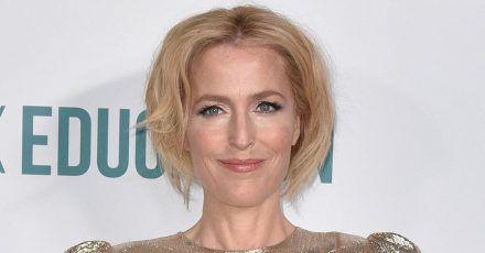 Gillian Anderson möchte nicht mit ihrem Freund zusammen wohnen