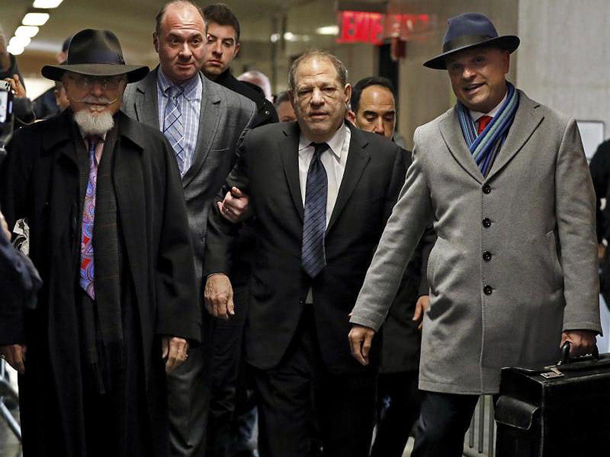 Harvey Weinstein als aschfahler Greis vor Gericht