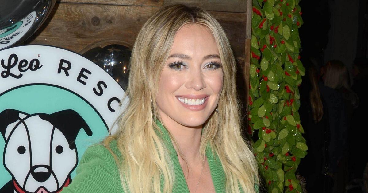 """Hilary Duffs Tochter soll im selben Kleid heiraten: """"Es wird schon gereinigt"""""""