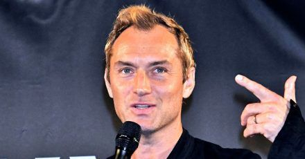 """Jude Law (47): """"Ich hab's geschafft, ich habe überlebt"""""""