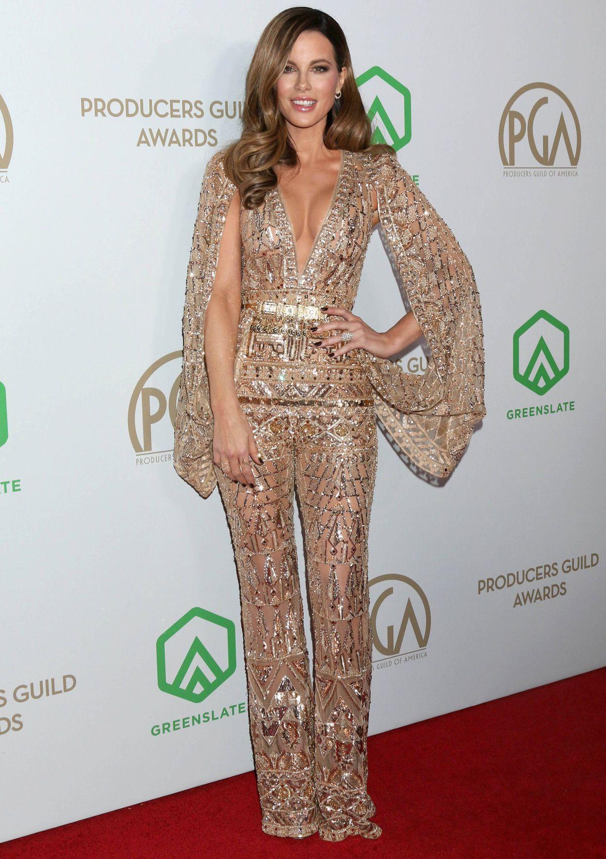 Best Dress of the Day (845): Kate Beckinsale glänzt in Gold