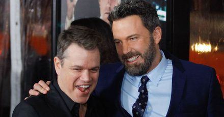 Matt Damon: Ben Affleck pennt ständig auf seiner Couch