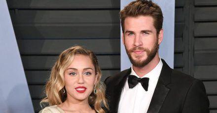 Miley Cyrus und Liam Hemsworth sind nun geschiedene Leute
