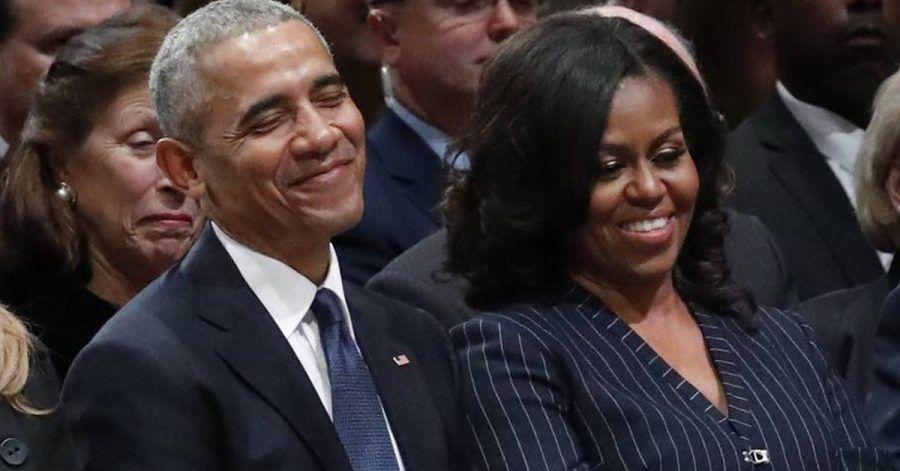Barack und Michelle Obama: Romantikgewitter auf Instagram