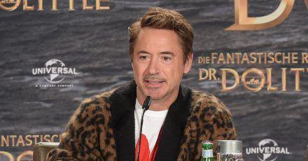 """""""Dr. Dolittle"""" Robert Downey Jr. in Berlin"""