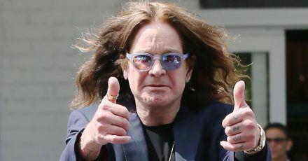 """Ozzy Osbourne: """"Als ich stürzte, war es schwarz wie die Nacht"""""""