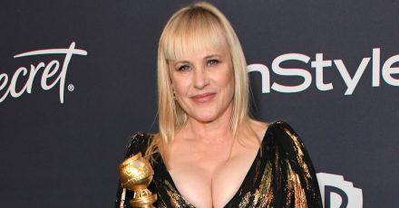 Patricia Arquette: Golden-Globe-Kleid gerissen, bevor sie ankam