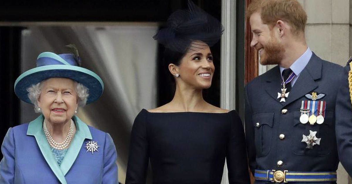 Queen Elizabeth II. gibt Prinz Harry ihren Segen