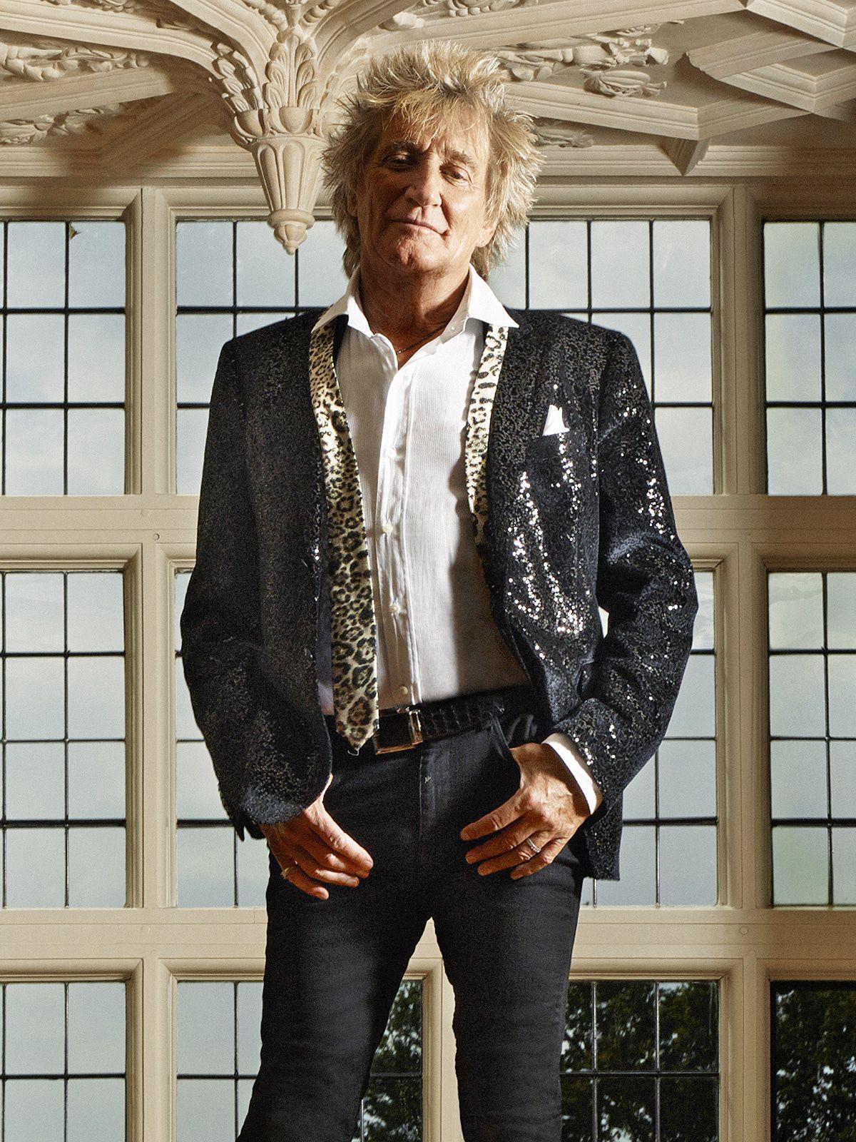 """Rod Stewart wird 75: """"Meinen Geburtstag feiere ich im Rollstuhl"""""""