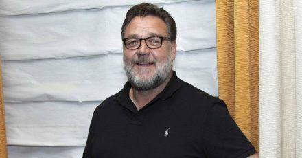 Russell Crowe is happy nach dem Giga-Feuer