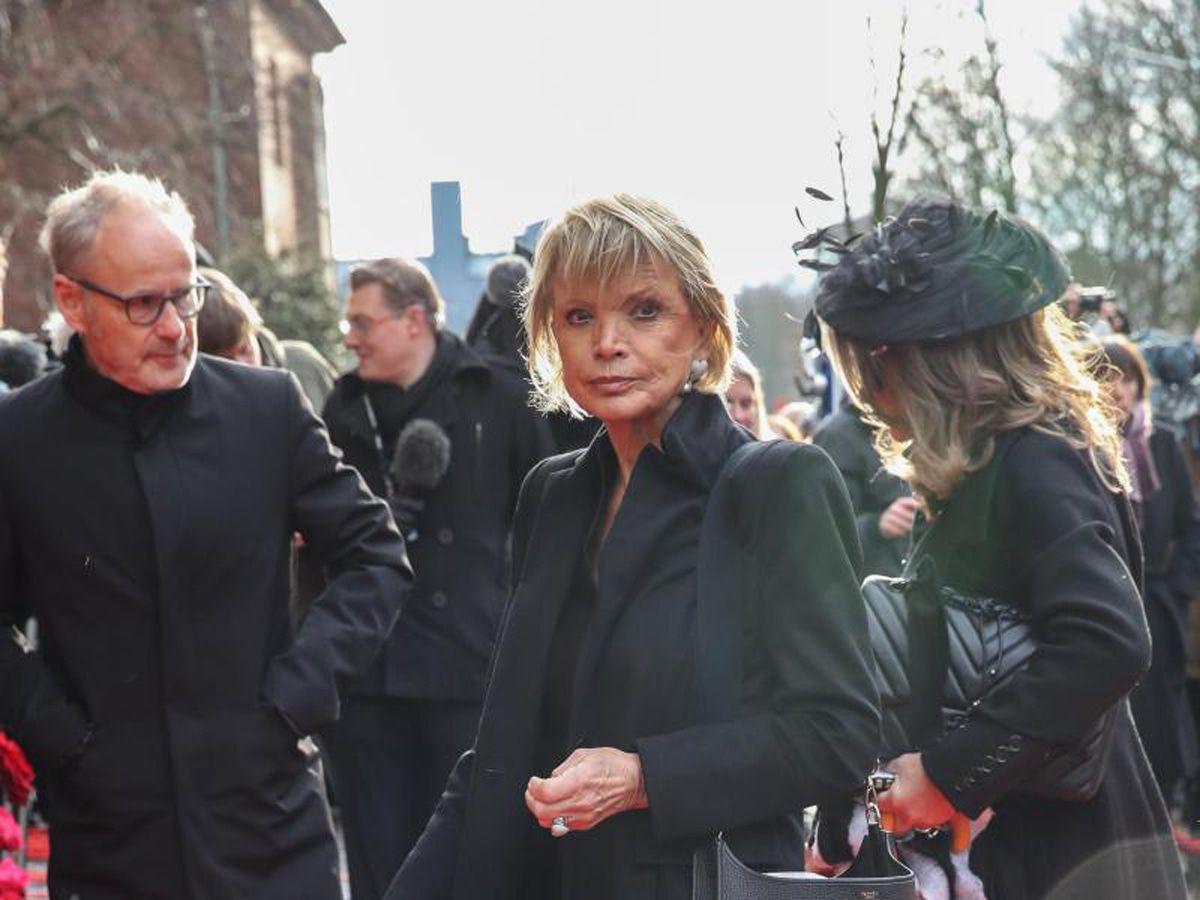 Trauerfeier für Jan Fedder wie ein Staatsakt - die Bilder!