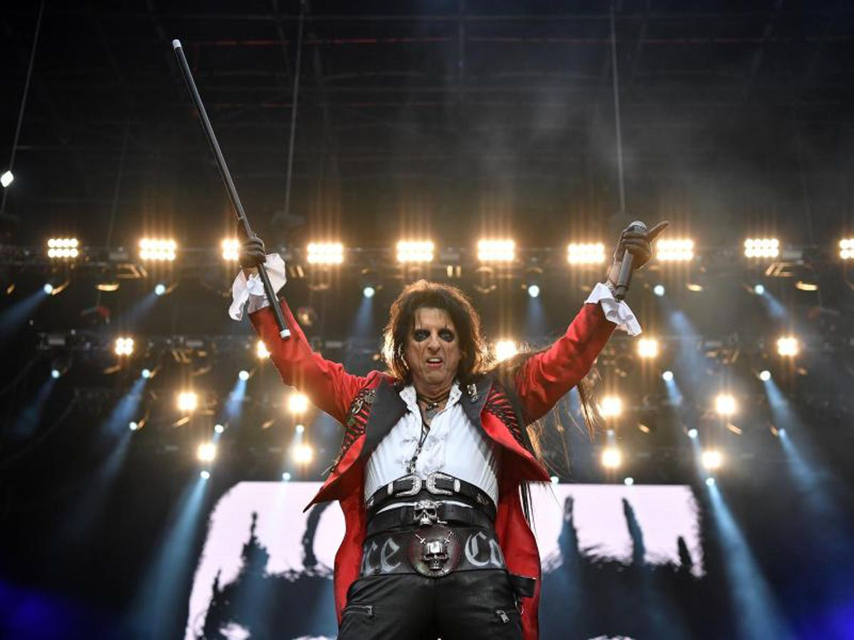 Rock gegen Buschfeuer: Da war die Show mit Alice Cooper und Queen