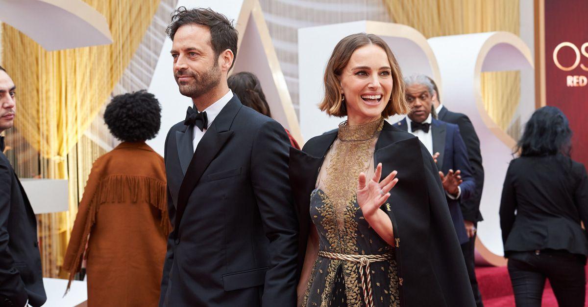 Oscars Natalie Portman mahnt mit düsterem Umhang