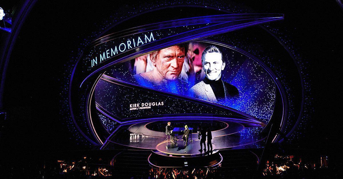 Kobe Bryant & Kirk Douglas: So rührend wurde ihnen bei den Oscars gedacht