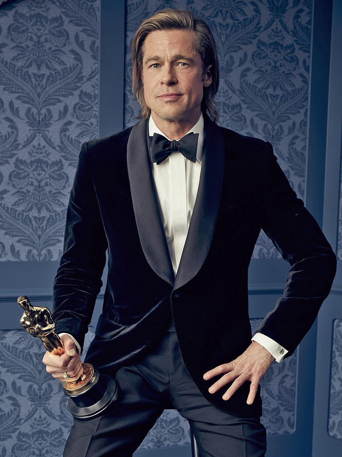 Brad Pitt nach dem Preisregen der letzten Wochen jetzt ganz oben