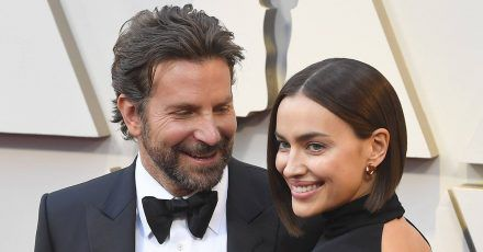 Bradley Cooper und Irina Shayk Arm in Arm bei einer Party