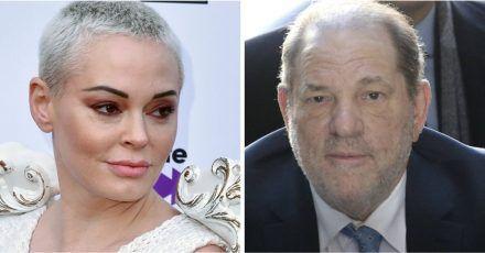 Harvey Weinstein: Rose McGowan kann nicht abschließen, bis er tot ist