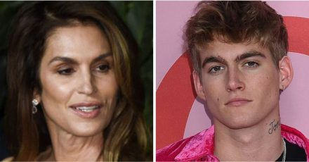 Cindy Crawford: Krank vor Sorge wegen Sohn Presley?