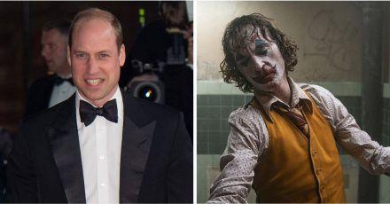 """Prinz William ist froh, dass er """"Joker"""" nicht vorm Schlafen gesehen hat"""