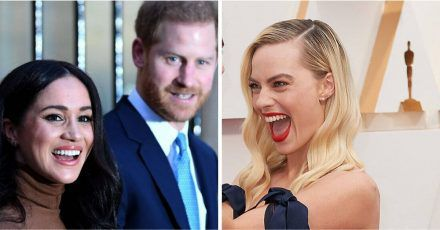Margot Robbie will Prinz Harry & Meghan zum Dinner einladen