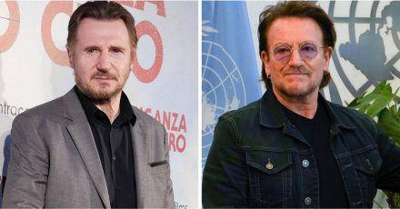 Liam Neeson verdankt Kumpel Bono Hauptrolle in neuem Drama