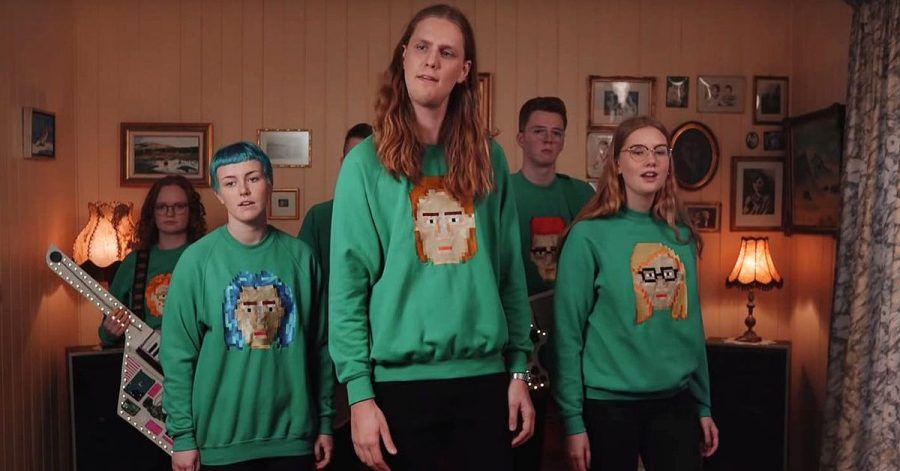 "Daði og Gagnamagnið: Das Netz feiert das Video ""Think About Things"""