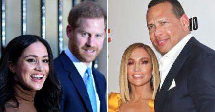Jennifer Lopez, Alex Rodriguez, Prinz Harry & Meghan: Die neue Clique