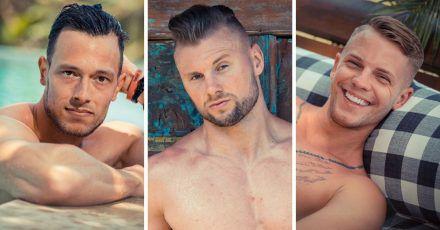 Temptation Island: Das sind die Verführer Bastian, David und Dennis