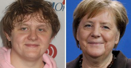 Angela Merkel & Lewis Capaldi: Zwillinge, von Geburt an getrennt