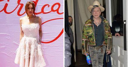 Lindsay Lohan dreht mit Mickey Rourke