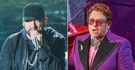 """Eminem: Wiedersehen mit """"Onkel Elton"""""""